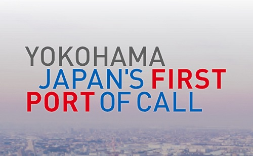 yokohama JAPAN's first port of call